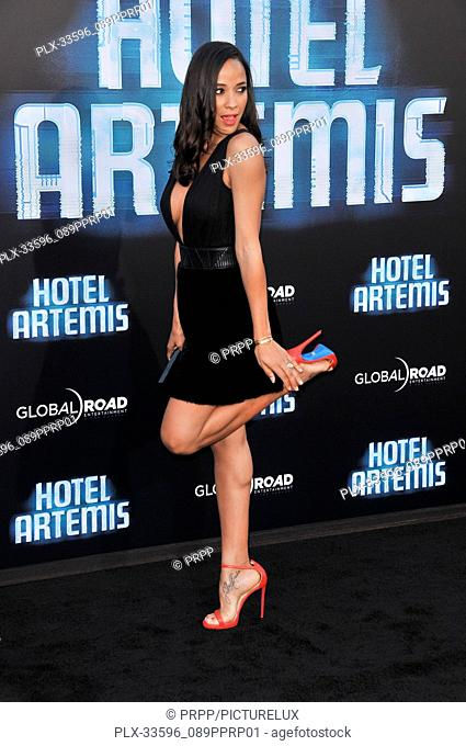 "Dania Ramirez at the """"Hotel Artemis"""" Los Angeles Premiere held at the Bruin Theater in Los Angeles, CA on Saturday, May 19, 2018"