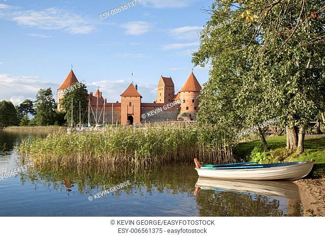 Island Castle; Trakai; Vilnius; Lithuania