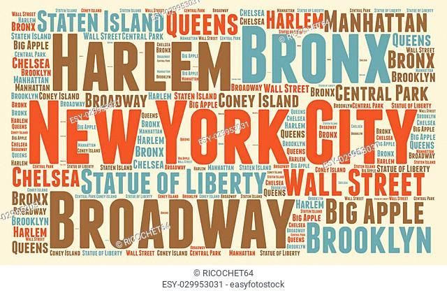 New York City word cloud