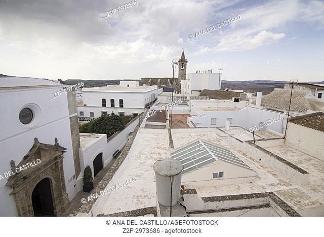 Vejer de la Frontera white village in Cadiz province, Andalusia, Spain