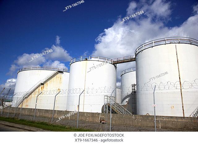 nustar bulk liquid petroleum storage terminal Belfast harbour Northern Ireland UK