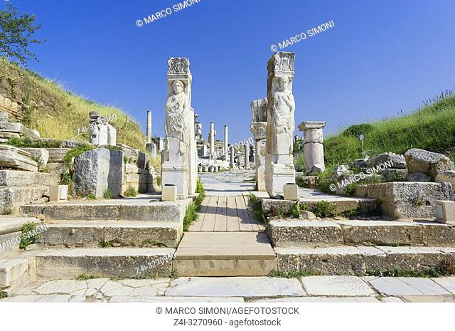 Gates of Hercules, Ephesus, Turkey, Asia Minor, Asia