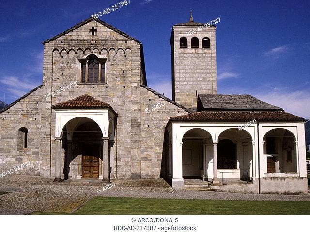 Church San Vittore, Locarno, Lago Maggiore, Ticino, Switzerland