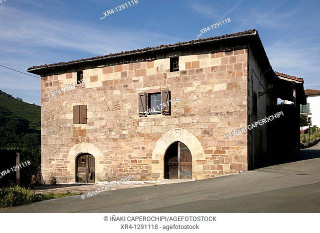 Vicuña Palace, Arrayoz Arraioz, Baztan Valley, Navarra Nafarroa, Spain España