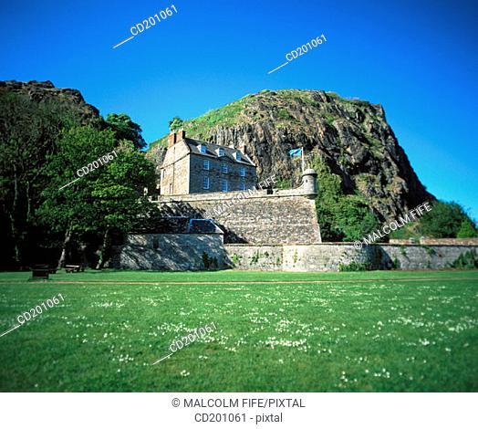 Dumbarton Castle. West Dumbartonshire. Scotland