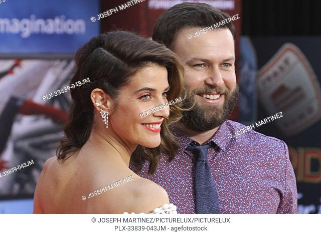 """Cobie Smulders, Taran Killam at Columbia Pictures' and Marvel Studios' """"""""Spider-Man Far From Home"""""""" World Premiere held at the TCL Chinese Theatre in Hollywood"""