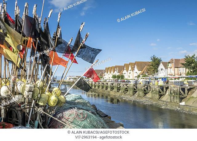Port de Courseulles-sur-Mer, Calvados, Normandie, France