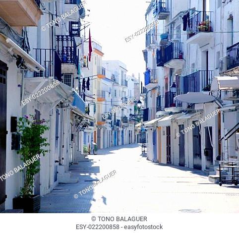 Ibiza from balearic islands in Spain