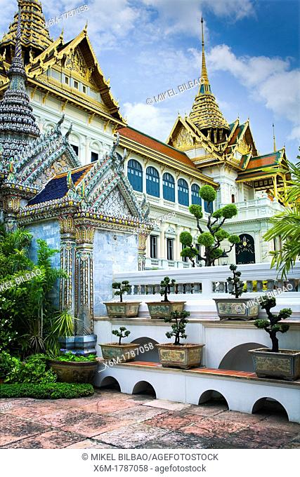 The Phra Thinang Chakri Mahaprasat buildings  Grand palace  Bangkok, Thailand