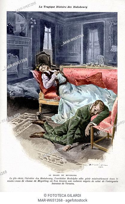 ASBURGO 'La tragedia di Mayerling' Nel castello di Mayerling, il 30 gennaio 1889 avvenne la morte dell'arciduca Rodolfo d'Asburgo e della sua amante Maria...