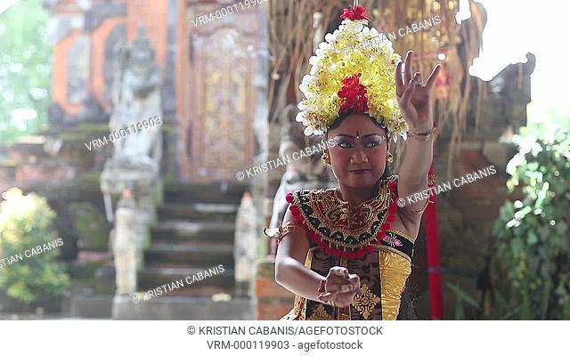 Kris Dance, Bali, Indonesia, Southeast Asia