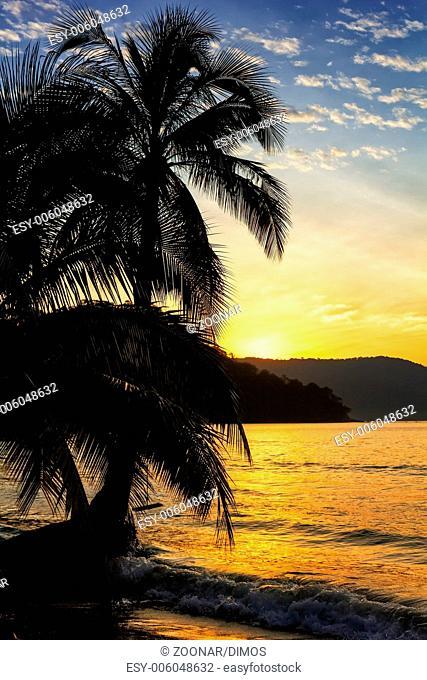 Sunrise on the Koh Kood island, Thailand