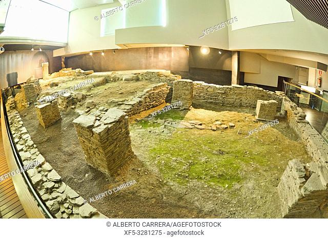 University Museum Domus do Mitreo, Roman Historical Archaeological Site, Lugo City, Lugo, Galicia, Spain, Europe