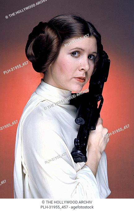 "Carrie Fisher in """"Star Wars"""" 1977 20th Century Fox"