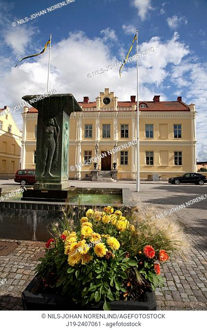 Strängnäs city, Södermanland Sweden   ( Town Hall)