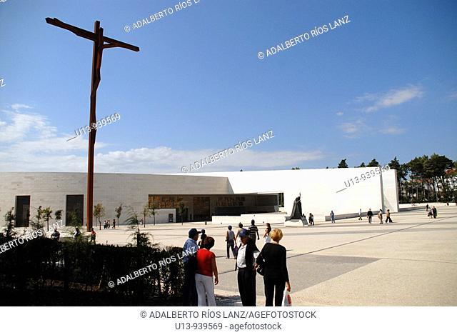 Our Lady of Fatima sanctuary, Fatima, Santarem, Portugal