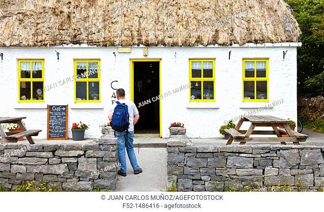 Kilmurvey Coffee Shop  Inishmore Island, Aran Islands, Galway County, West Ireland, Europe