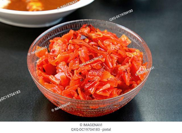Fukujinzuke (Japanese pickles)