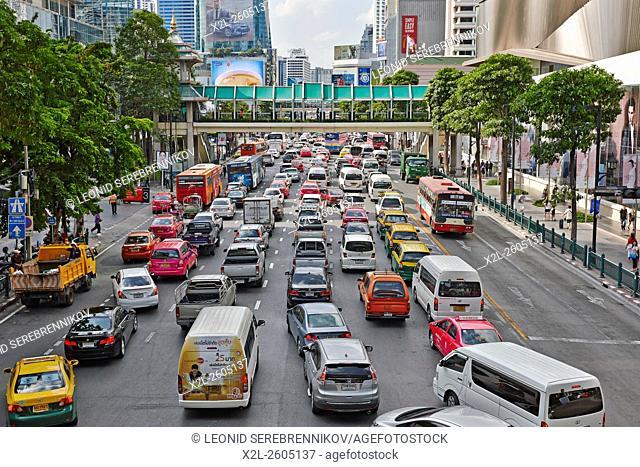Ratchadamri Road, Bangkok, Thailand