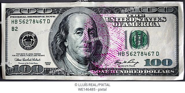 USA 100 dollars bill