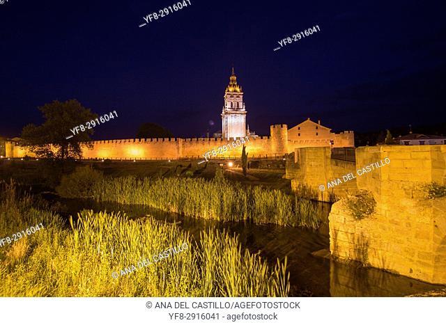 Burgo de Osma village Soria province Castile Leon Spain on June 11, 2017