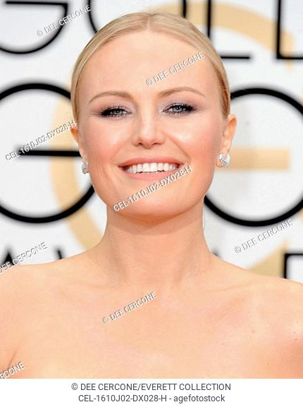 Malin Akerman at arrivals for 73rd Annual Golden Globe Awards 2016 - ARRIVALS 2, The Beverly Hilton Hotel, Beverly Hills, CA January 10, 2016