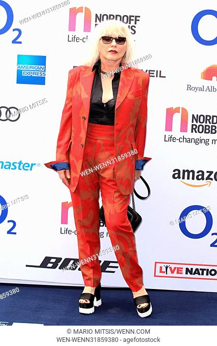 The O2 Silver Clef Awards held at the Grosvenor House Hotel, Park Lane - Arrivals Featuring: Blondie, Debbie Harry, Deborah Harry Where: London