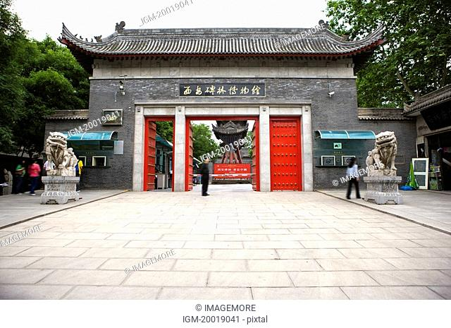 Asia, China, Shanxi, Xi'an, Stele Forest, Confucian Temple