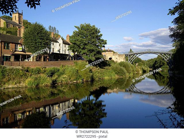 90900292, Town of Ironbridge, Shropshire, England