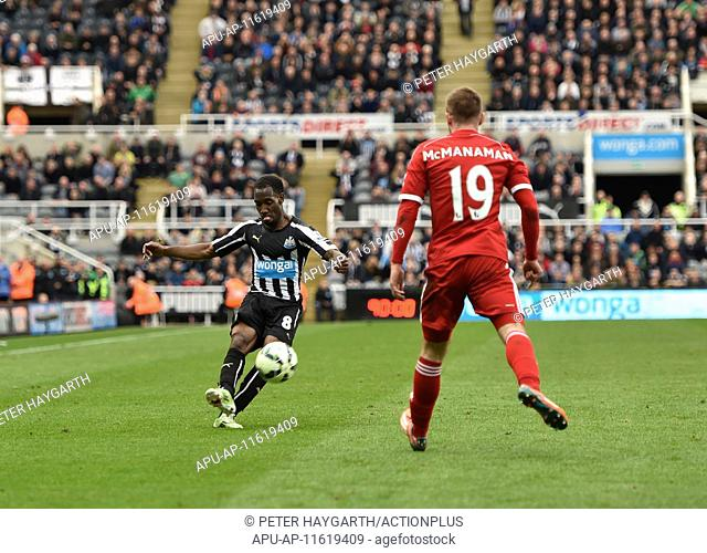 2015 Barclays Premier League Newcastle v West Bromwich Albion May 9th. 09.05.2015. Newcastle, England. Barclays Premier League