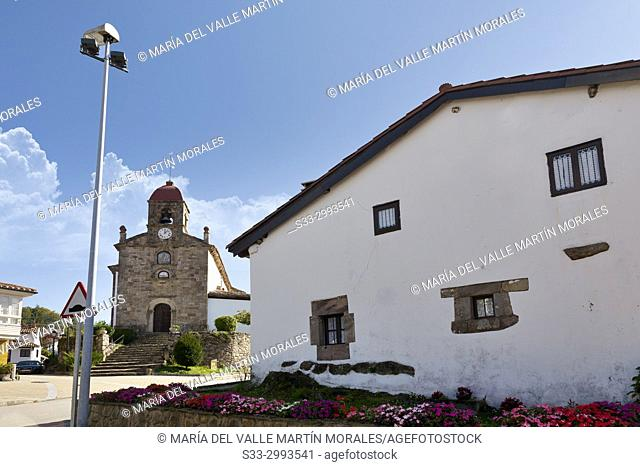 Church in Torazo. Asturias. Spain