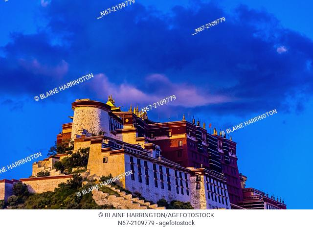 The Potala Palace (a UNESCO World Heritage Site) was the chief residence of the Dalai Lama until the 14th Dalai Lama fled to Dharamsala, India