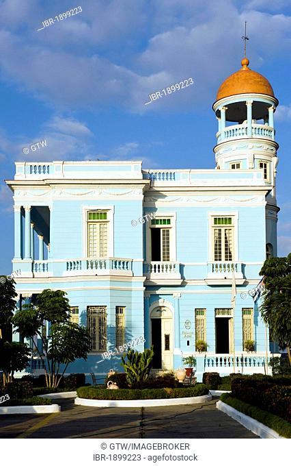Palacio Azul palace, Cienfuegos, Unesco World Heritage Site, Cuba