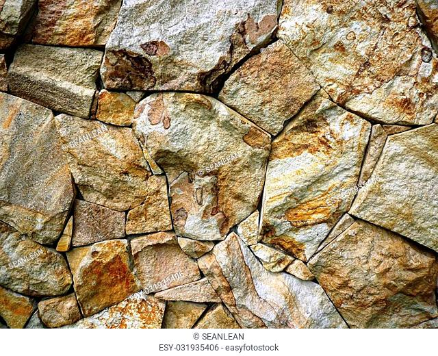 Background of the rough stone rock texture