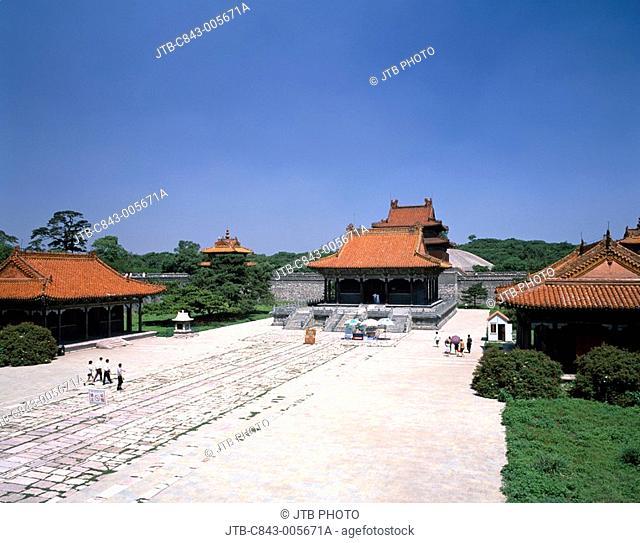 Beiling park, Zhao ling, Panyang, Liaoning province, China
