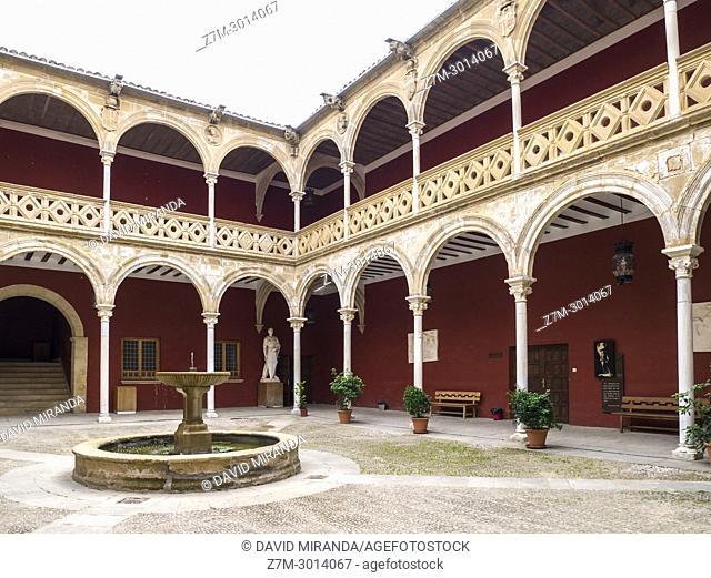 Patio de la Casa de las Torres. Úbeda. Jaén. Andalusia. Spain