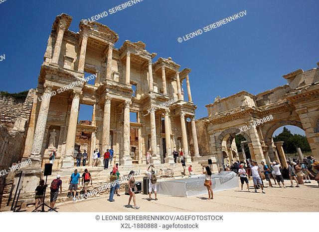 Celsus Library  Ephesus Archaeological Site, Izmir province, Turkey