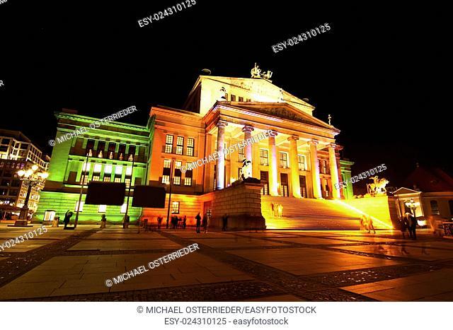 The Konzerthaus (Concert hall) on the Gendarmenmarkt in Berlin, Germany