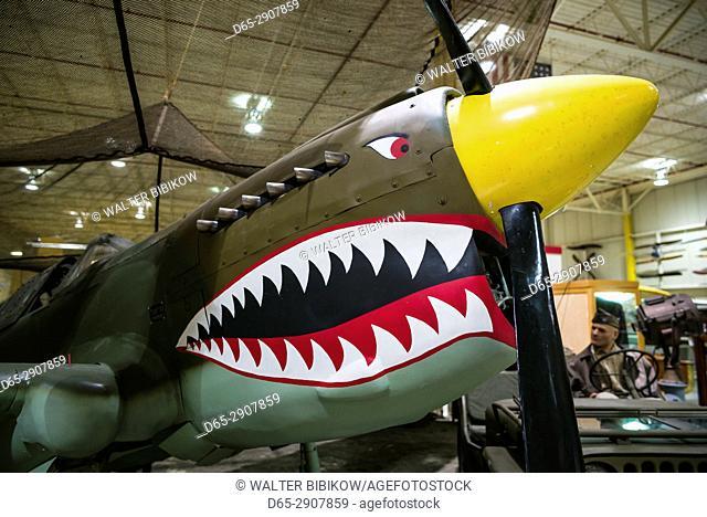 USA, New York, Finger Lakes Region, Hammondsport, Glenn H, Curtiss Museum, dedicated to early US aviation pioneer and resident Glenn Curtiss