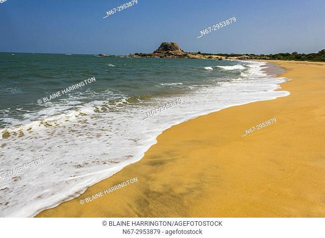 Beach, Yala National Park, Southern Province, Sri Lanka