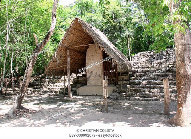 Coba Maya Ruinen