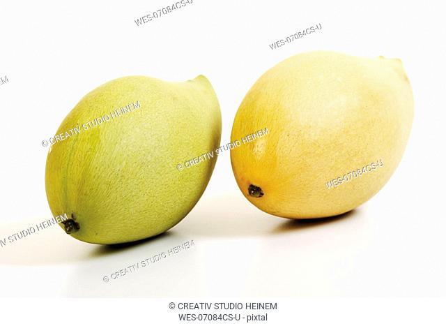 Thai mangos, close-up