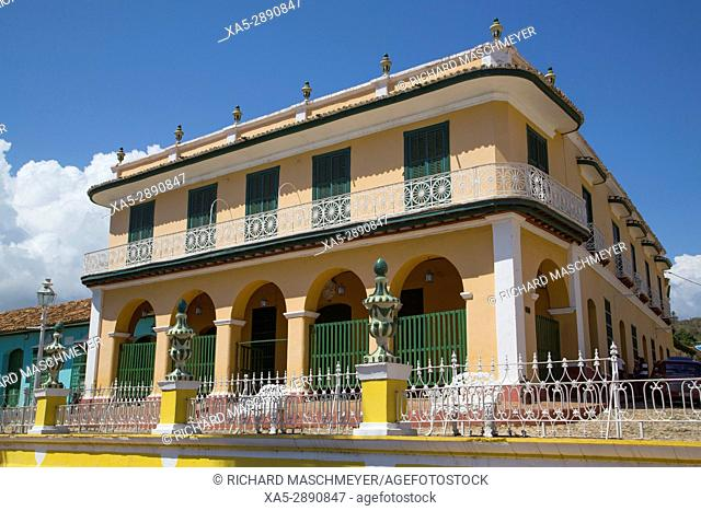 Palacio Brunet (also called Romantic Museum), Trinidad, UNESCO World Heritage Site, Sancti Spiritus, Cuba