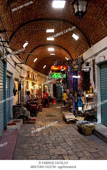Tunisia - Sousse - The souks in the medina