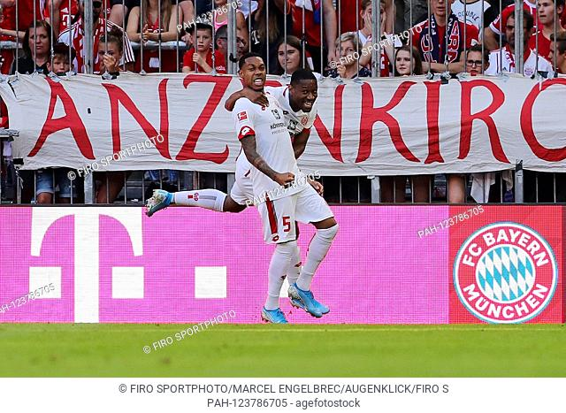 firo: 31.08.2019, football, 1.Bundesliga, season 2019/2020, FC Bayern Munich - 1.FSV FSV FSV Mainz 05 6: 1, Jean-Paul Boetius, 1
