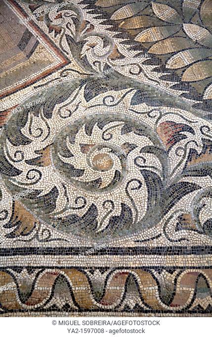 Roman Mosaics at British Museum