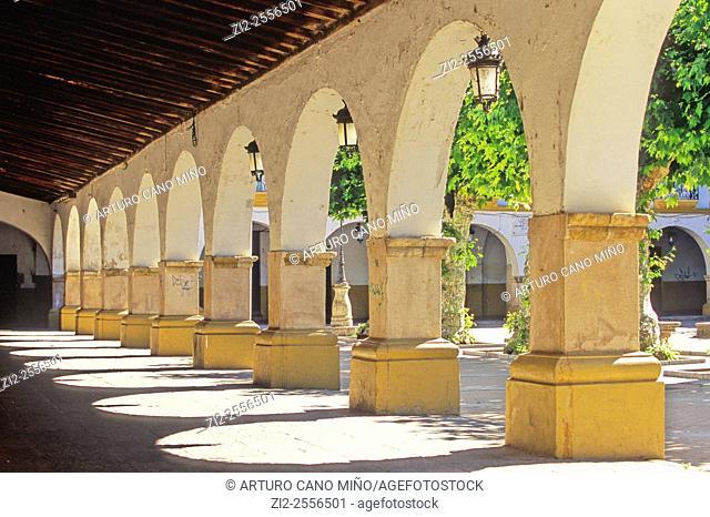 The Good Mayor Square. Ciudad Rodrigo, Salamanca, Spain