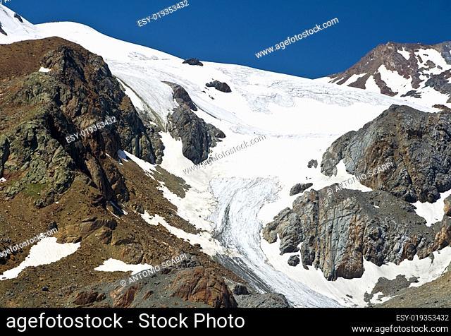 Cevedale glacier, Italy