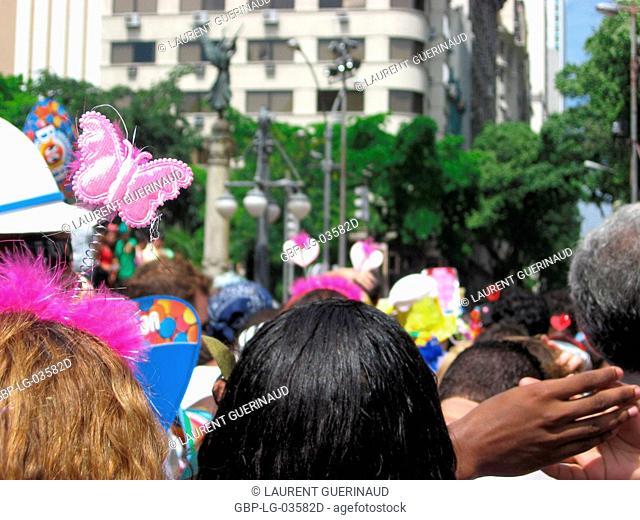 Blocks of Street, Carnival 2009, Rio de Janeiro, Brazil