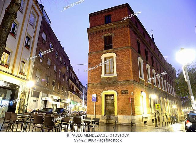 Center of Madrid, Spain